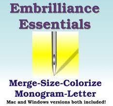 Embrilliance Essentials