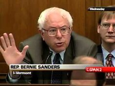 Pls RP: #IndictHillary Bernie Sanders on Consumer Protection (1) [7/9/2003]