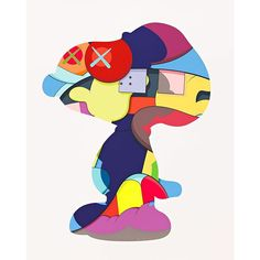 KAWS - NO ONE`S HOME (SNOOPY) - GALERIE FLUEGEL-RONCAK http://www.widewalls.ch/artwork/kaws/no-ones-home-snoopy/ #print