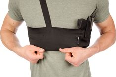 Shoulder Holster for Deep Concealment by CCW Tactical Underarm Gun Holster for Men and Women Fits Most Handguns Black M RH Draw Holster Under Left Arm * Find out more about the great product at the image link.(It is Amazon affiliate link) #HuntingAccessoriesIdeas #gunholster
