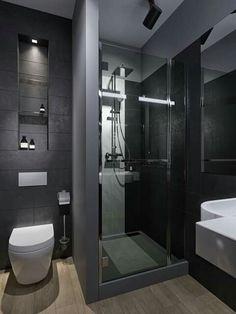 Modern Bathroom Tile, Bathroom Design Luxury, Bathroom Layout, Modern Bathroom Design, Small Bathroom, Shower Bathroom, Vanity Bathroom, Master Bathroom, Bad Inspiration