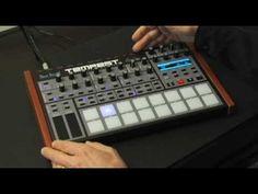 Dave Smith Instruments- Tempest Analog Drum Machine- Roger Linn Design