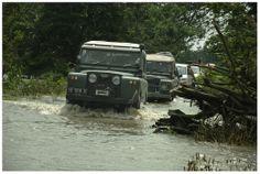 #LandRover  - banjir muara gembong