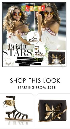 """""""Untitled"""" by betty-hs ❤ liked on Polyvore featuring Gucci and ABS by Allen Schwartz"""