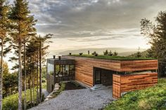 Project - Malbaie V Residence - Architizer