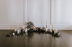 Candle lit ceremony, indoor elopement, ceremony ideas, Myrtle and Moss Photography Romantic Wedding Inspiration, Wedding Ideas, Elopement Inspiration, Wedding Details, Wedding Stuff, Industrial Wedding Venues, Victoria Wedding, Vancouver Wedding Photographer, Elope Wedding