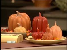 How-To Fall Candle Making Tutorial Video (Part 1 of 2)  | Martha Stewart Holidays  05.22.13
