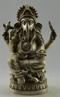 Like and Share if you want this  Jai Sri Ganesh Handwork Tibet Silver Statue     Tag a friend who would love this!     FREE Shipping Worldwide     Get it here ---> http://punjabirishtay.com/jai-sri-ganesh-handwork-tibet-silver-statue/