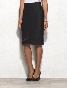 roz & ALI™ Laser Cut Scuba Skirt