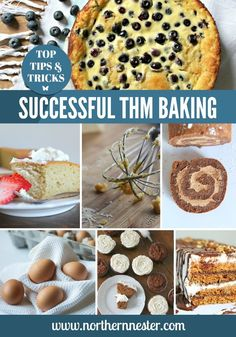 Here's an exhaustive list of tips for successful Trim Healthy Mama baking! Want to know what you can substitute and how to avoid a flop? Read this first!