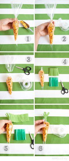 """Armelle Blog: diy: easter """"carrot"""" snacks ..."""