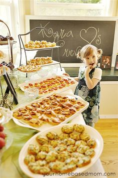 Great party ideas (Bridal showers, baby showers, graduation parties...)