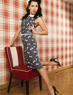 Vivianne pencil - Rockabilly Clothing - Online Shop für Rockabillies und Rockabellas