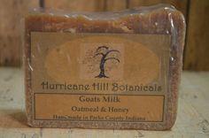 Oatmeal and Honey Goats Milk Soap by HurricaneHill on Etsy