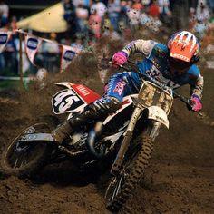Damon Bradshaw en Southwick en 1989.