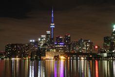 The fabulous Toronto skyline. Toronto Skyline, Cn Tower, Empire State Building, Canada, Photography, Photograph, Photo Shoot, Fotografie, Fotografia