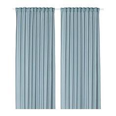 VIVAN Gardiner, 2 stk., lyseblå lyseblå 145x250 cm