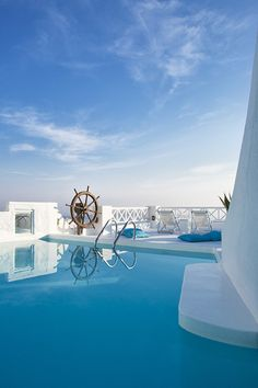 On the Rocks Hotel, Santorini, Greece