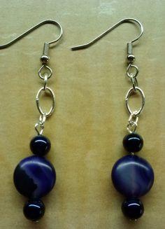 Beaded Earrings Handmade Earrings Beadwork by KimsSimpleTreasures, $8.00