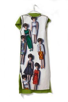 Dresses | Lisa Milroy Lisa Milroy, Peter Blake, Art Clothing, Aqa, Tim Walker, Fashion Art, Womens Fashion, Gcse Art, Doll Parts