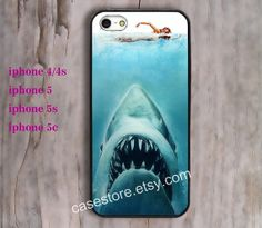 Shark  iPhone 5 Case Bright iPhone 5 5s CaseHard by charmcover, $7.99