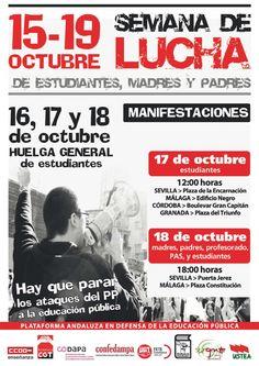 SEMANA DE LUCHA   15-19 Octubre 2012
