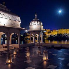 Taj Lake Palace, Udaipur, India. Photo courtesy of zackhussain on Instagram.