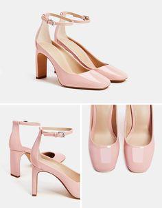 Zapato tacón charol