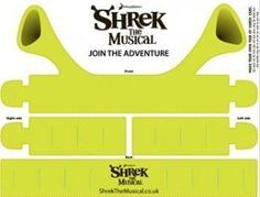 Shrek Ears and other cool downloadable cutouts