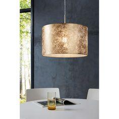 Eglo VISERBELLA Hängeleuchte Gold, 1-flammig Style Glam, Indoor, Shades, Ceiling Lights, Lighting, Modern, Gold 1, Room Ideas, Delivery