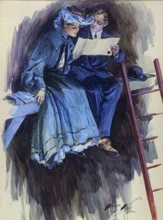 Fisher, Harrison  | American Illustrators Gallery
