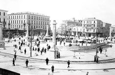 The history of Omonoia square at the heart of Athens Popular Stories, Top Destinations, Back In Time, Hotels And Resorts, Us Travel, Athens, Paris Skyline, Greece, Louvre