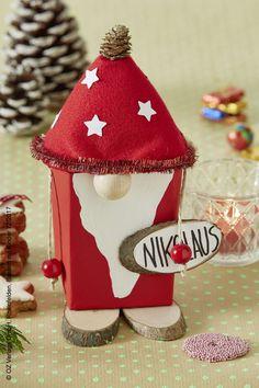 Schöne Ideen und kinderleichte Bastelanleitung für Wéihnachten gibt es schon jetzt in der Zeitschrift Basteln mit Kindern.