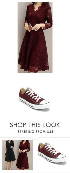 """Untitled #1096"" by laurie-egan on Polyvore featuring Converse"
