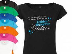 Fan-Shirts für HundefreundeHundespruch T-Shirt: Das sind keine Hundehaare…