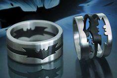 batman wedding | Banter 2.0: Batman Puzzle Ring