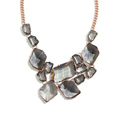 Crystal Collage Necklace