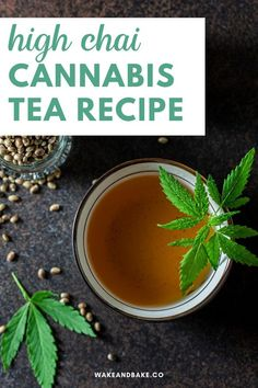 High Chai Cannabis Tea Recipe | Cannabis Drink Recipes DIY | Looking for an easy weed drink recipe? Click to make cannabis-infused tea, one of my favorite recipes for two reasons: Chai tea is delicious and it's a great way to use your leftover material after making cannabis coconut oil in the crock pot. | Cannabis Coconut Oil | Wake and Bake #cannabistea #cannabisrecipe #weedrecipe #weedtea #CBDoil #cannabis