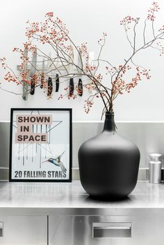 Global living with furniture and home accessories from HKliving. A Dutch brand with original, pure and modern designs. Decor, Home Decor Accessories, Interior, Black Vase, Deco, Interior Styling, Vase, Home Deco, Danish Interior Design