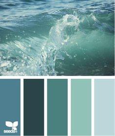 Nuancier blue