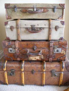 antique luggage                                                                                                                                                                                 More