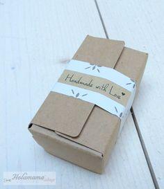 Tutorial Holamama para hacer packaging handmade