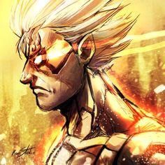 Asura's Wrath on Capcom-All-Stars - DeviantArt Character Portraits, Character Art, Character Design, Asura's Wrath, Samurai Wallpaper, Infamous Second Son, Avatar The Last Airbender Art, Necromancer, Cool Sketches