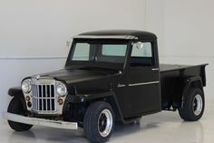 1957 willys pickup no reserve custom hot rod ratrod rat resto mod truck Vintage Trucks, Old Trucks, Willys Wagon, Jeep Willys, Jeep Rat Rod, Corolla Wagon, Jeep Garage, Jeep Pickup Truck, Station Wagon