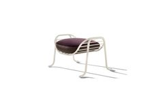 Arpa Footstool Glossy White - Collection II - Designed by Jaime Hayon for Sé
