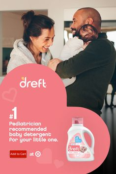 Dreft Stage Newborn Laundry Detergent is specially made for newborn babies' delicate skin. Baby Laundry Detergent, Baby Skin, Cute Baby Clothes, Baby Essentials, Baby Fever, Future Baby, Baby Care, Cute Babies, Baby Gifts