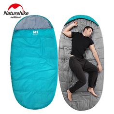 Cheap Price Splicing Envelope Sleeping Bag Ultralight Adult Portable Outdoor Camping Hiking Sleeping Bags Spring Autumn 1.8*0.75m Strong Resistance To Heat And Hard Wearing Camping & Hiking