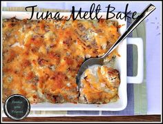 A LCHF tuna melt bake full of good fats and loads of flavour. Perfect comfort food and totally It's also really easy to make. Banting Recipes, Free Keto Recipes, Ketogenic Recipes, Fish Recipes, Low Carb Recipes, Real Food Recipes, Cooking Recipes, Yummy Food, Healthy Recipes