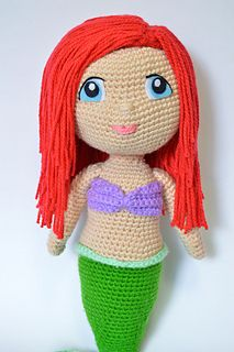 Make your own Little Mermaid with this CROCHET PATTERN.