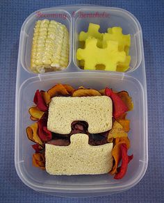 Becoming A Bentoholic: A Puzzle Lunch